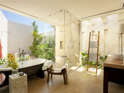 open air bathroom designs image salle de bain l ambiance naturelle s invite dans la