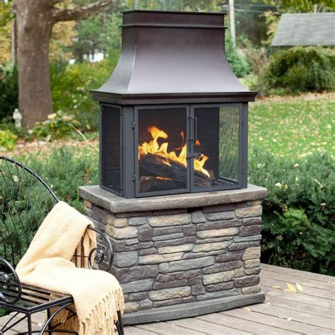 Outdoor Fireplace Inserts Wood by Best 25 Outdoor Wood Burning Fireplace Ideas On