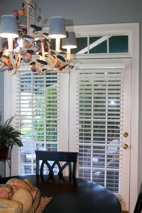 French Door Blinds Woodblinds Blinds Shades Faux Wood Blinds For Patio Doors
