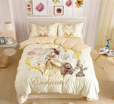 beauty and the beast bedroom set disney beauty and the beast belle princess bedding sets