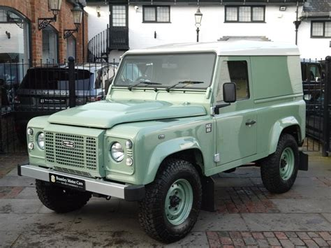 land rover defender 2016 2016 land rover defender 90 heritage edition up for sale