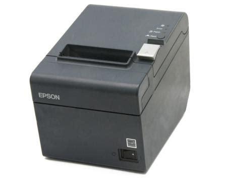 Printer Epson T20 epson tm t20 m249a usb thermal receipt printer black