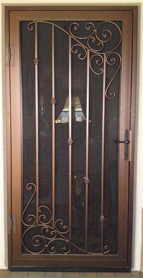 custom security doors phoenix iron security doors