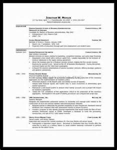 exle of a great resume exles of resumes cv personal profile career pioneers