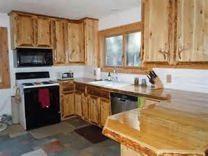 crafted custom cedar kitchen cabinets by king of the