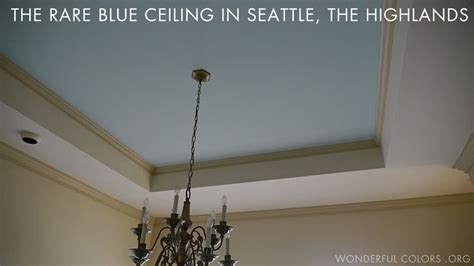 ceil blue color what is the meaning of blue ceilings