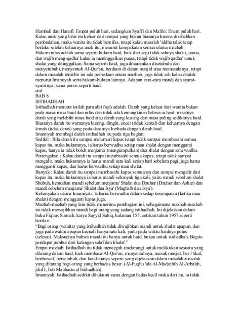 Fikih Wanita Empat Madzhab By Kasimu 1 buku fiqih 5 mazhab