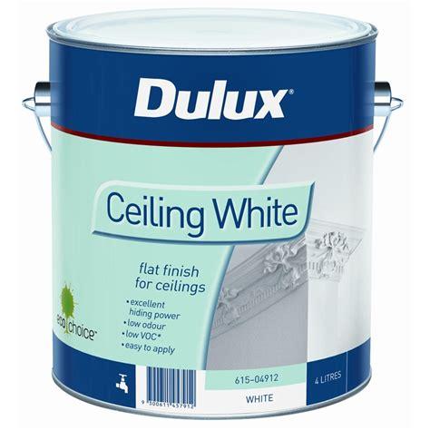 Ceiling White Dulux dulux 4l white ceiling paint bunnings warehouse