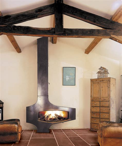 wall mounted fireplaces