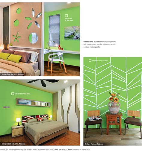 green tuft sơn nippon
