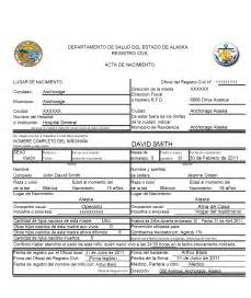 Translated Birth Certificate Template by Best Photos Of Verify Birth Certificates El Salvador
