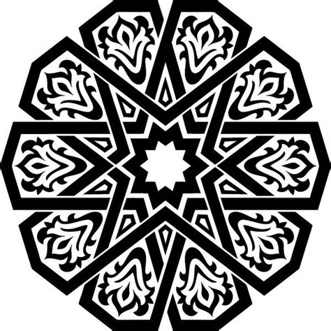 islamic pattern dxf 1503 best images about shapes geometric ornaments