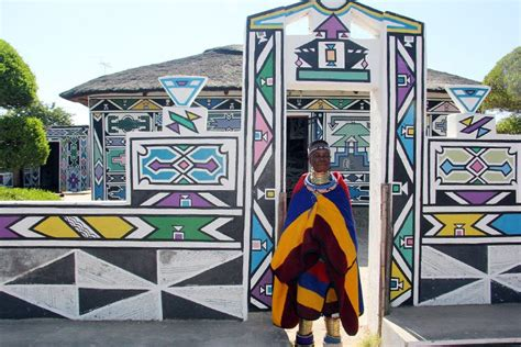 xhosa paint designs ndebele culture tribe pattern arts houses traditional