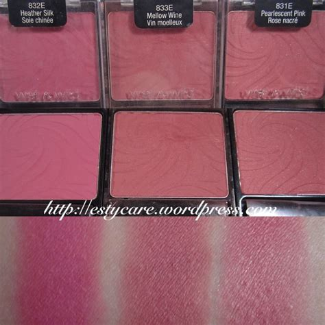 N Color Icon Blusher Pressed Powder n color icon blushes cas colors and powder