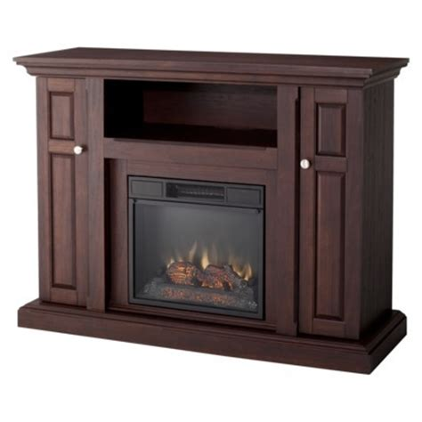cheap davidson indoor electric fireplace and tv stand