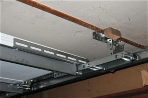 Garage Door Opener Low Clearance Low Headroom Modification For Steel Doors
