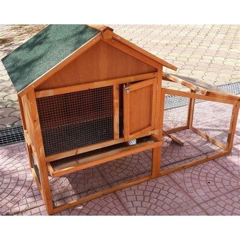 come fare gabbie per conigli gabbia per conigli da esterno con recinto e casetta