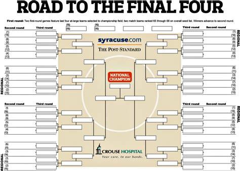 2017 ncaa basketball tournament blank and printable ncaa tournament brackets for 2017