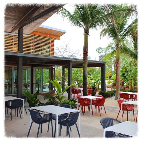 Botanical Garden Restaurant The Fogg Cafe At The Naples Botanical Garden Entree Magazine