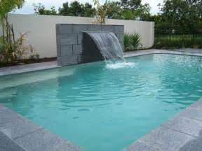 pool water feature home pinterest