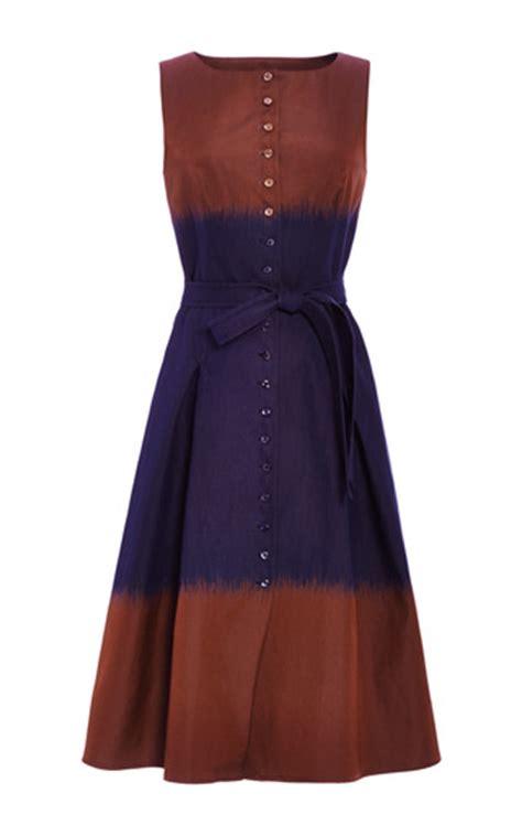 Rodnik Ludovico Jacquard Dress A Shirt Dress With A Difference by Ikat Stripe Jacquard Button Front Shirt Dress By Moda
