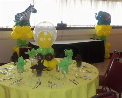 Safari Baby Shower Centerpieces by 31 Jungle Theme Baby Shower Table Decoration Ideas