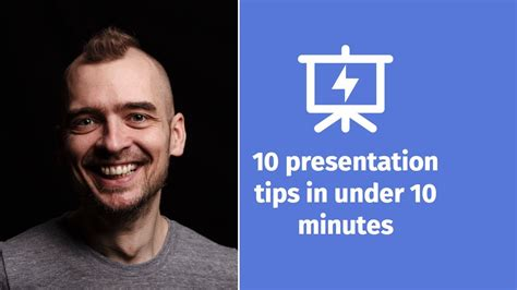 10 Presentation Tips In Under 10 Minutes Presentation 10 Minute Presentation Template