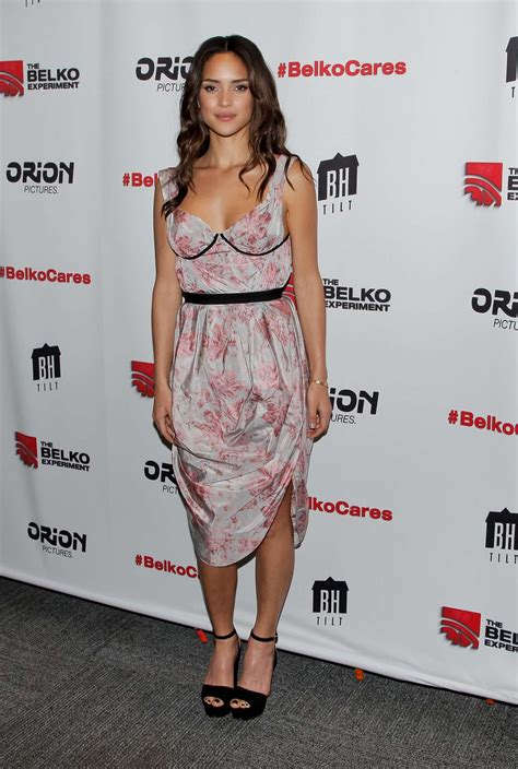 adria arjona belko experiment adria arjona the belko experiment screening 11 gotceleb