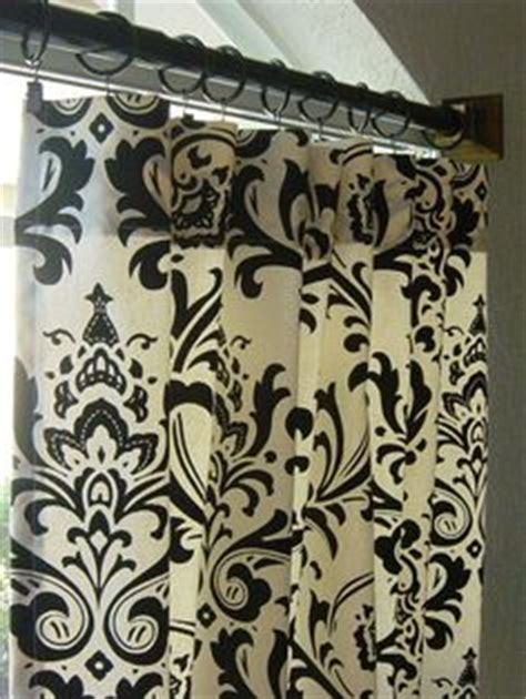 black and cream damask curtains 1000 images about black cream white gray theme on