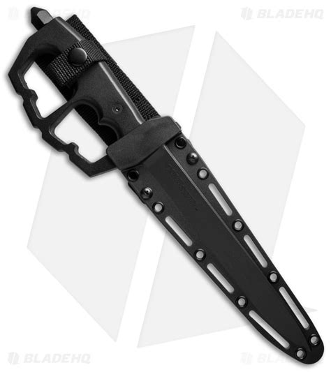 cold steel stiletto cold steel chaos stiletto trench knife 8 25 quot black