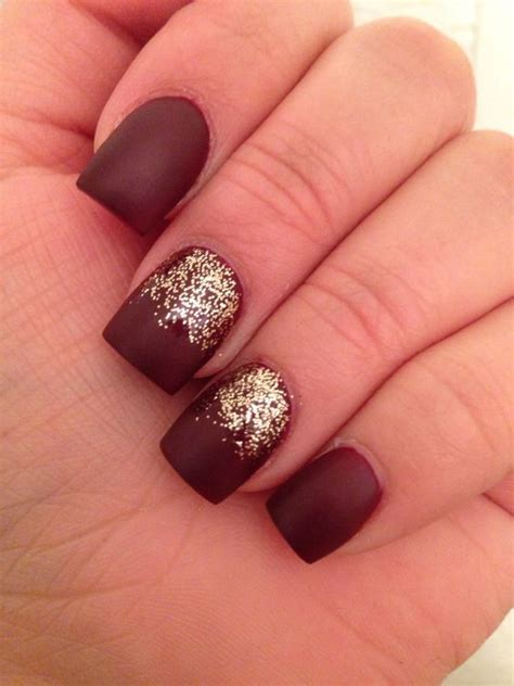 matte nail 25 best ideas about burgundy matte nails on