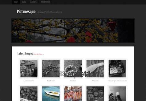 photographers gallery wordpress theme