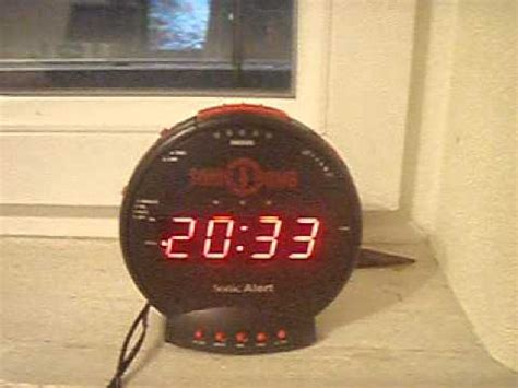 the loudest alarm clock in the world
