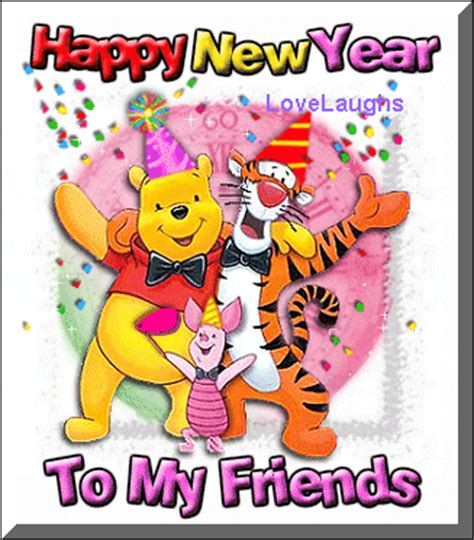happy new year my friend happy new year to my friends images and messages
