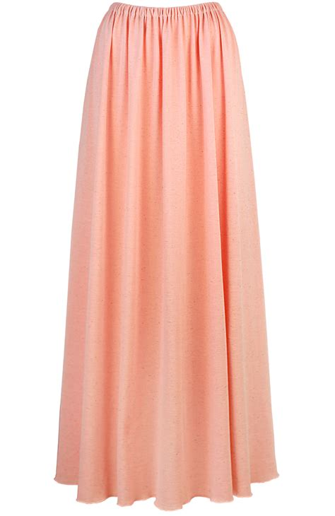 coral skirt somemoment womens clothing