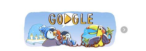 doodle animado do inicia los festejos navide 241 os con doodle animado