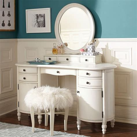girls vanities for bedroom pottery barn vanity white clean pbteen shopping for