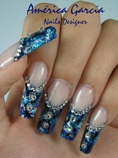 imagenes de uñas de acrilico color turquesa dise 241 o de revista amerika garcia