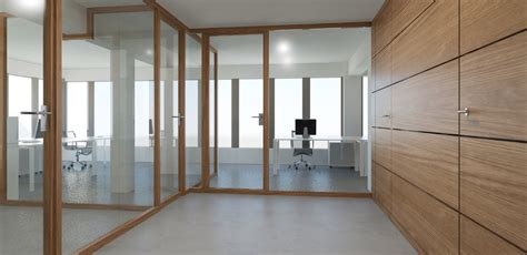 glass partition design wood glass partition wall system nodoo