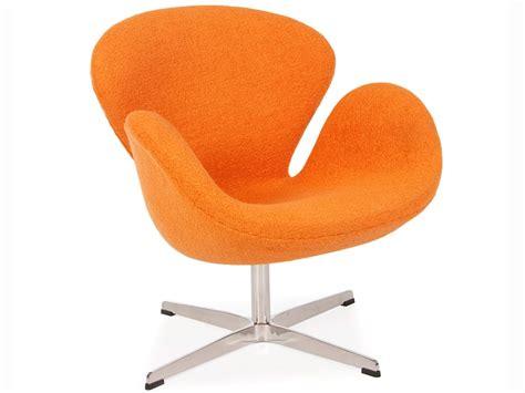 sedie arne jacobsen sedia swan arne jacobsen arancione
