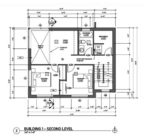 house plan w1911 detail from gallery of the greenest home on the block caron architecture dwell development 31