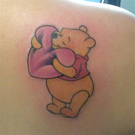 cartoon bear tattoo designs 17 winnie the pooh tattoos with cute and amazing meanings