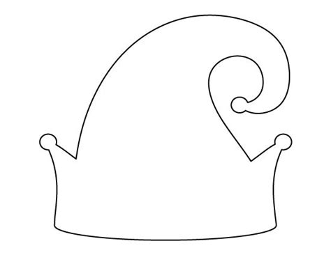 elf ears coloring pages elf ear template printable sketch coloring page