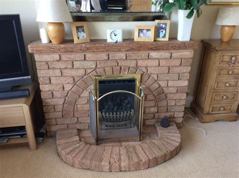 replace brick fireplace and gas chimneys