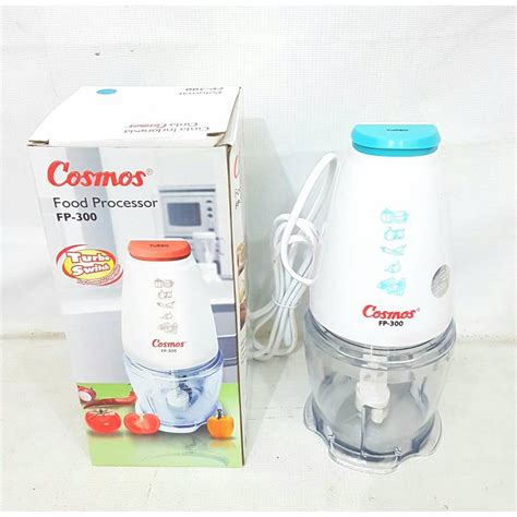 Cosmos Blender Fp300 Fp 300 cosmos food processor blender mini fp300 shopee indonesia