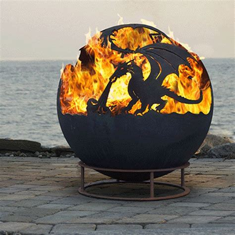 large firepits large individually crafted pit garden