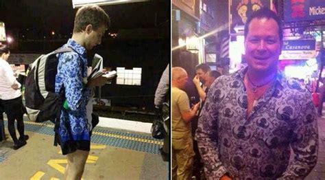 Baju Korpri Wanita M heboh di medsos bule pakai seragam korpri yang dikira batik