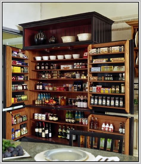 Unfinished Kitchen Pantry by Pantry Cabinet Unfinished Oak Pantry Cabinet With