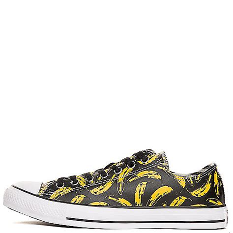 Converse Ct Andy Warhol converse andy warhol ct ox unisex black casual lace up