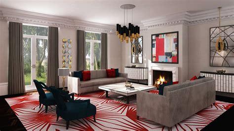 hampstead lounge  jo hamilton interior designer